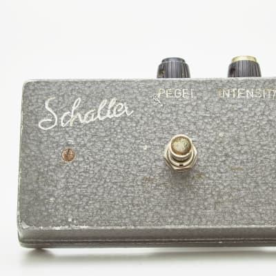 Schaller Fuzz Guitar / Bass Pedal 196*  Made in West Germany AC-151 Germanium Transistors  1960 for sale
