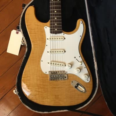 Fender Stratocaster 1994-95 Foto-Flame for sale