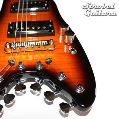 Strobel Rambler Travel Guitar - Tobacco Sunburst for sale