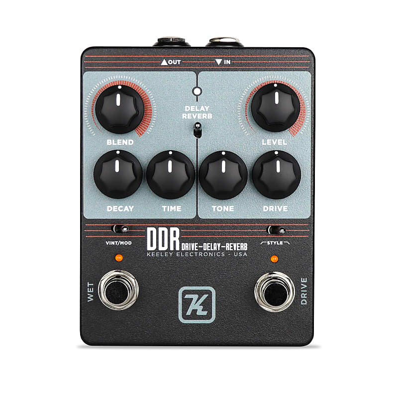 Keeley Ddr Drive Delay Reverb Guitar Pedal Serial Number