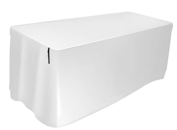 12dabc990cd6 Ultimate Support Table Cover 6-foot White USDJ-6TCW