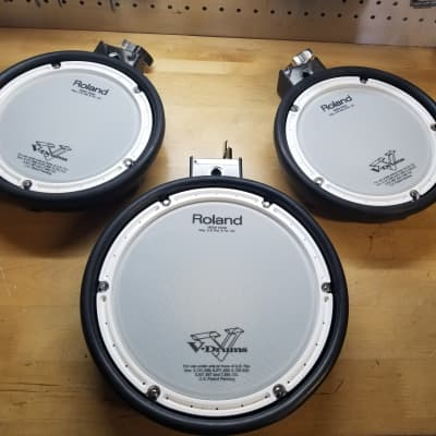 Roland 1 - PDX-8 & 2 - PDX-6 Dual Trigger Mesh Head V-Drum Pads Upgrade Pack - Free Shipping!
