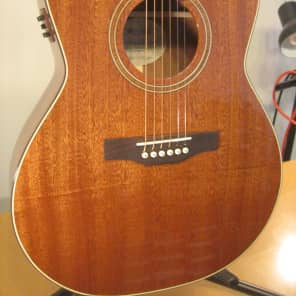 Simon & Patrick Woodland Pro Folk Mahogany Natural