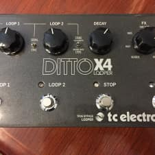 TC Electronic Ditto X4 Looper True Bypass Near Mint FREE SHIP
