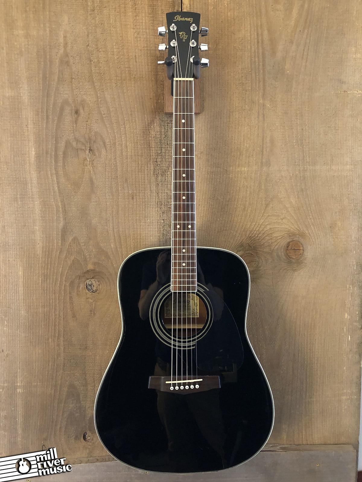Ibanez PF104SJP-BK Dreadnought Acoustic Guitar Black 2005