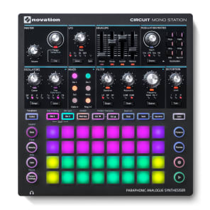 Novation Circuit Mono Station Paraphonic Analog Synth