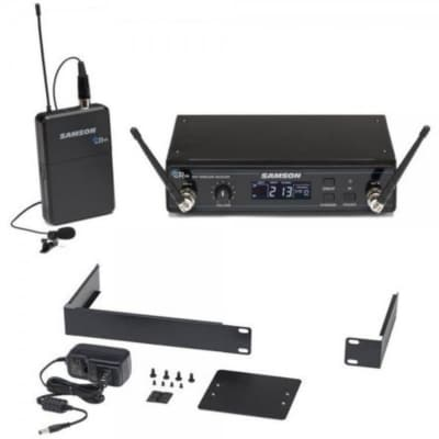 Samson Concert 99 Frequency-Agile UHF Wireless Lavalier Mic Presentation System - K Band (470–494 MHz)