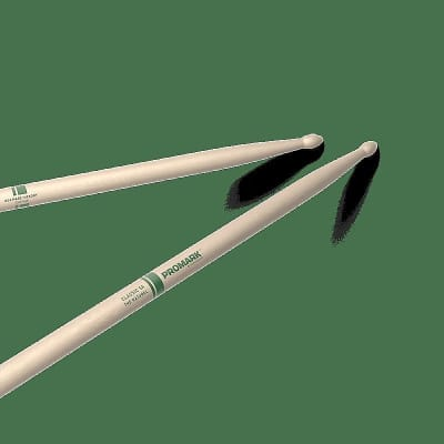 Pro-Mark TXR5AW Classic 5A Natural Wood Tip (Pair) Drum Sticks