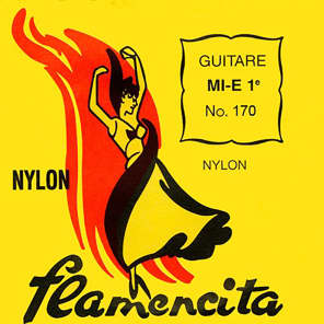 Savarez 170NT Flamencita Silver-Plated/Nylon Flamenco Strings - Normal