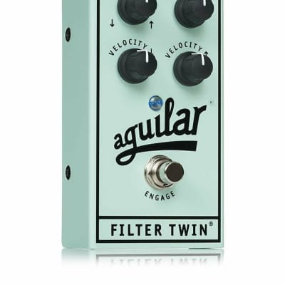 Aguilar Filter Twin Dual Envelope Filter Effects Bass Pedal *NEW IN BOX*