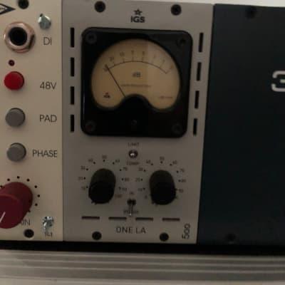 IGS Audio ONE LA 500 Tube Optical Compressor Module