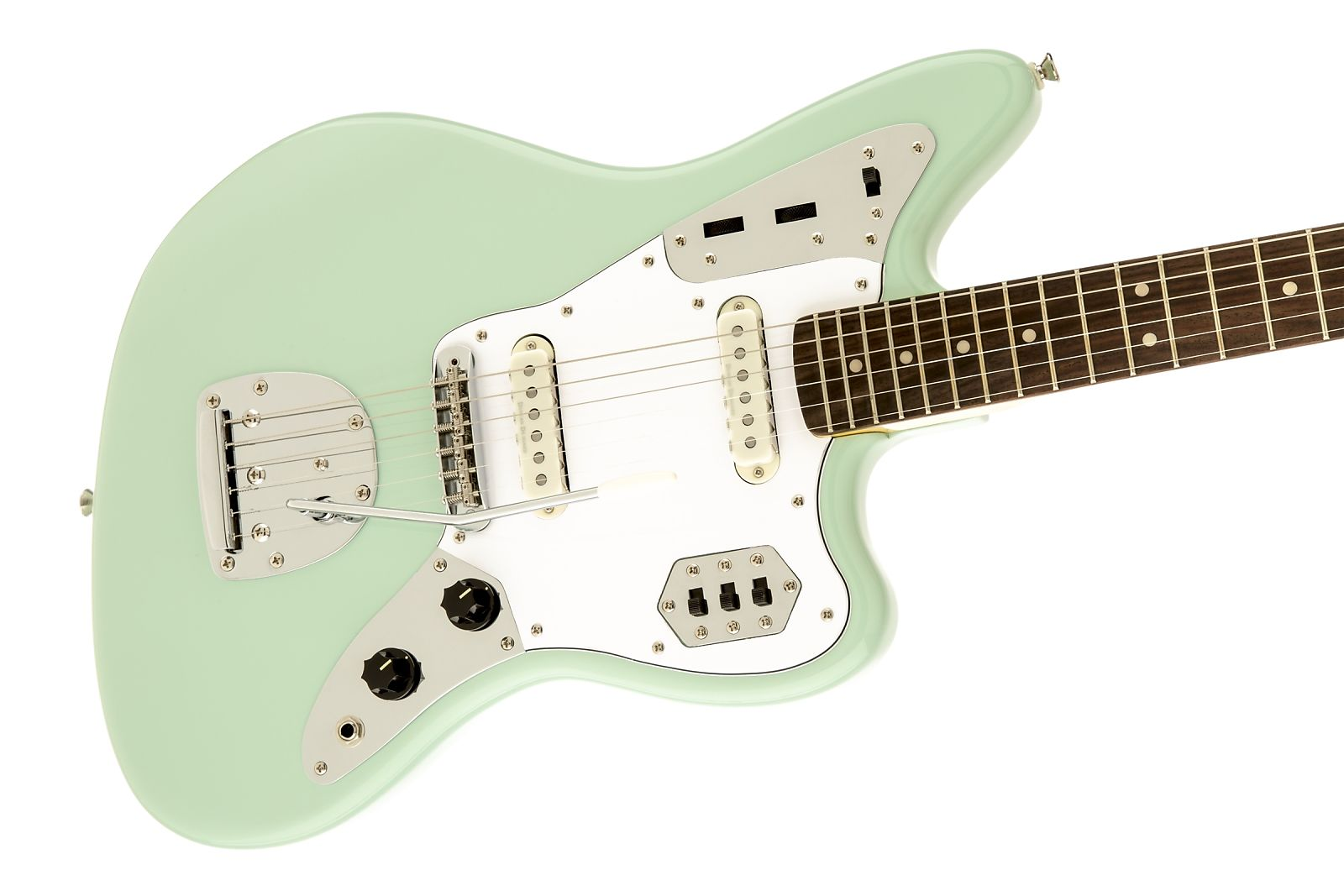 Squier Vintage Modified Jaguar Seafoam Green