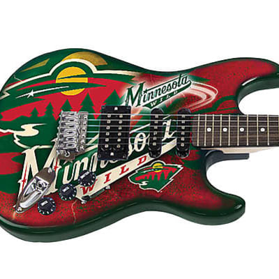 Woodrow Northender Guitar Minnesota Wild