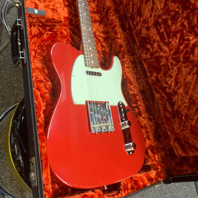 Fender 1963 Telecaster NOS Custom Shop Red for sale