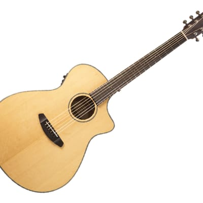 Breedlove Discovery Series Concerto CE Hollow Body Acoustic-Electric Guitar Ovangkol/Sitka Spruce - DSCO01CESSMA2