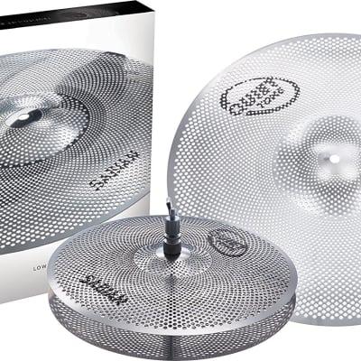 Sabian Quiet Tone Practice Drum Cymbals Set - QTPC501