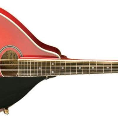Washburn M1SDLTR Solid Top A Style Mandolin F-Headstock Trans Red for sale