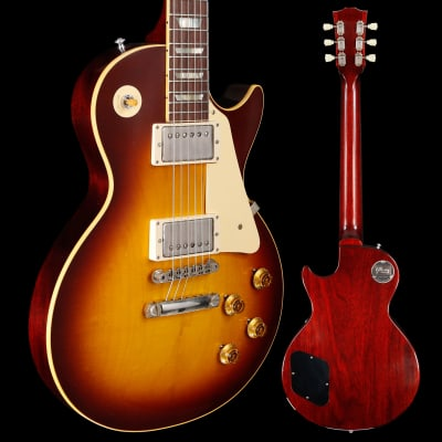 Gibson Custom Shop 1958 Les Paul Standard Reissue, Murphy Lab Ultra Light Aged Bourbon Burst 122