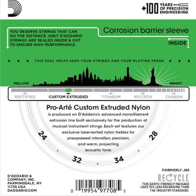 D'Addario EJ65S Pro-Arté Custom Extruded Nylon Soprano Ukulele Strings