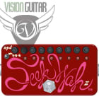 ZVEX HAND PAINTED SEEK WAH II - Wah and Tremolo Sequencer Pedal image