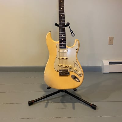 Danocaster Double Cut 2020 Nicotine Blonde for sale