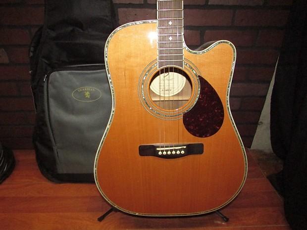 samick greg bennett design d8ce acoustic electric guitar reverb. Black Bedroom Furniture Sets. Home Design Ideas