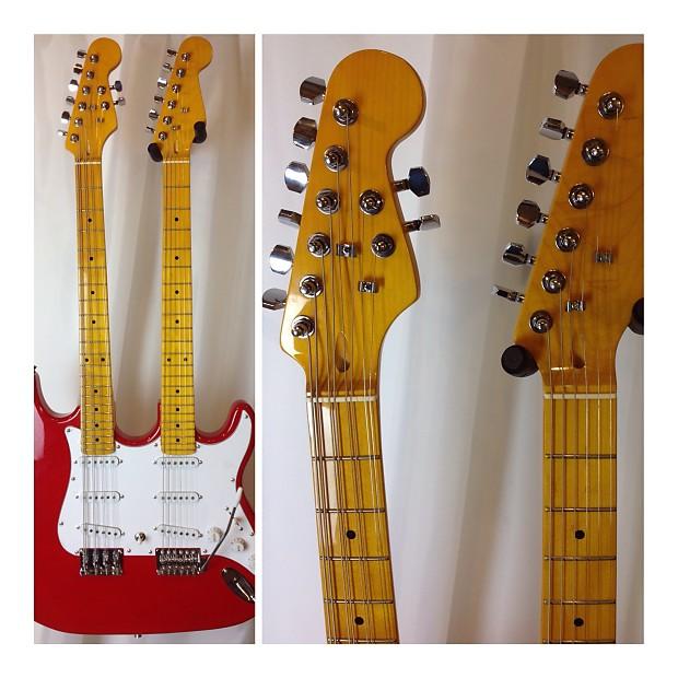mortone 8 string mandocello and 6 string guitar double neck reverb. Black Bedroom Furniture Sets. Home Design Ideas
