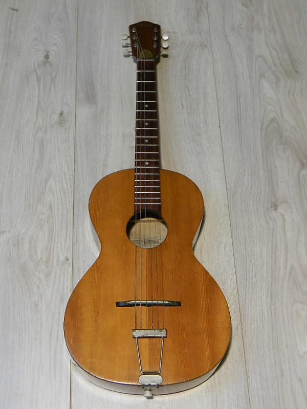 small vintage FRAMUS 50/I parlor parlour Jazz Blues GUITAR Gitarre Germany 1969 image