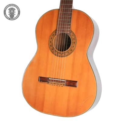 El Degas Nylon Acoustic Guitar in Natural for sale