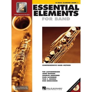 Hal Leonard Essential Elements for Band - Bb Bass Clarinet Book 1 with EEi