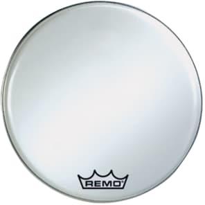 "Remo Ambassador Smooth White Crimplock Bass Drum Head 30"""