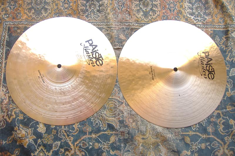 In The Bag Clean Complex Paiste Masters 15 Dark Hihats Reverb