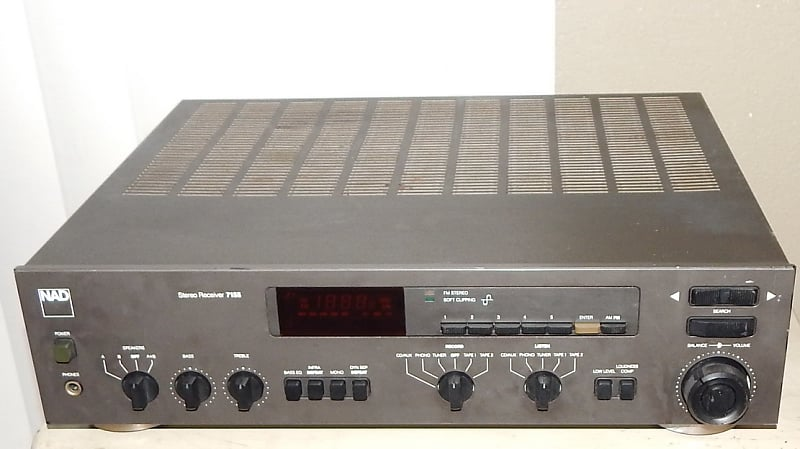 NAD 7155 vintage stereo receiver | ronald's Gear Outlet
