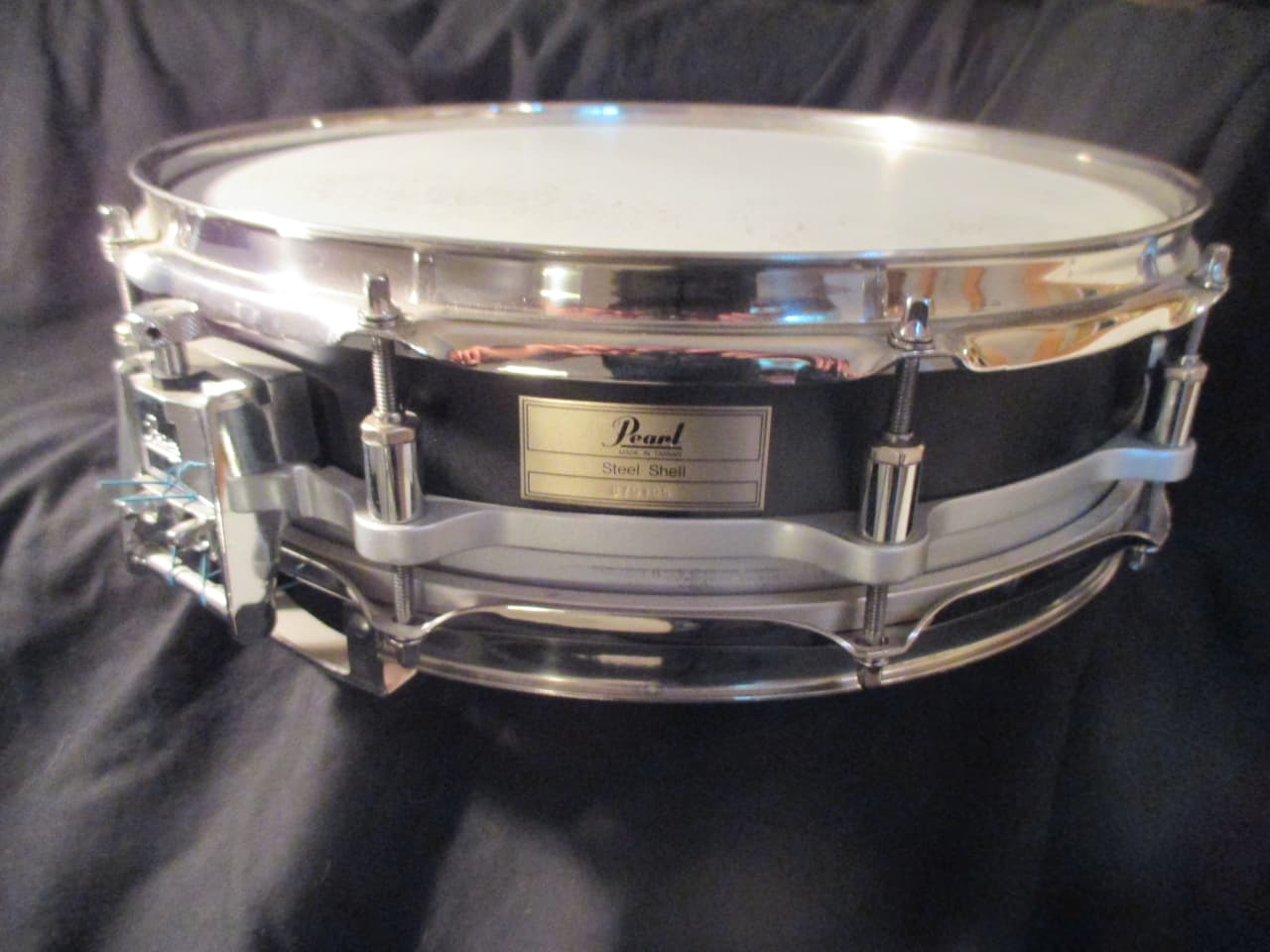 Pearl 14 x 3.5 Free Floating Snare Drum, 10 Lugs, Dual Throw | Reverb