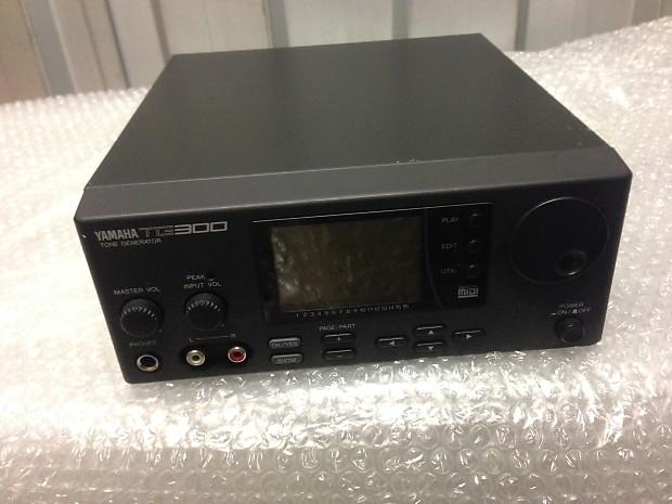 Yamaha TG300 Multi Tone Generator Synthesizer Midi Sound Module 128 Voice
