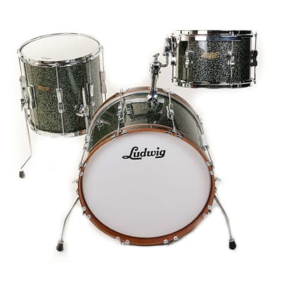 "Ludwig LR318JX Club Date SE Jazzette 8x12 / 14x14 / 14x18"" 3pc Shell Pack"