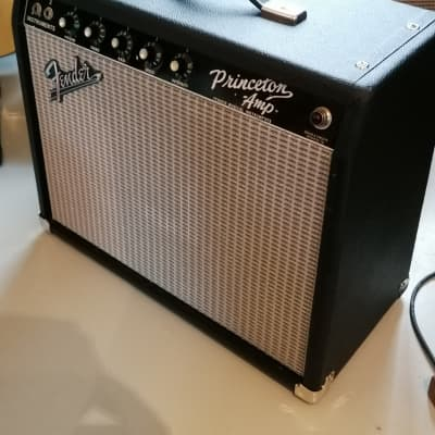 Fender Princeton 12-Watt Vintage Blackface Guitar Combo Amp for sale