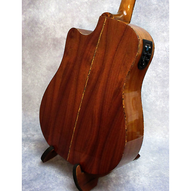 washburn dk20cet acoustic electric guitar w gig bag reverb. Black Bedroom Furniture Sets. Home Design Ideas