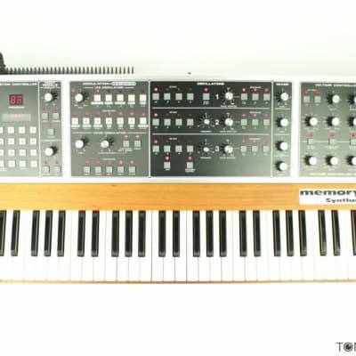 MOOG MEMORYMOOG PLUS Meticulously Refurbished & FUTURE-PROOFED Vintage Synth Dealer Best Youll Find