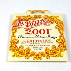 La Bella 2001FL-1 Silver Plated Flamenco Guitar Strings - Light