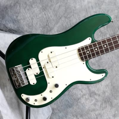 1983 Fender Elite Precision Bass II - Emerald Green - OHSC for sale