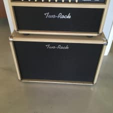 Two Rock Custom Reverb Signature V2 50w - includes cabinet 2006 cream - black cloth
