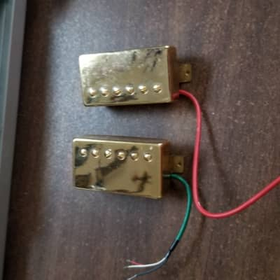 Unknown  Humbuckers  Gold