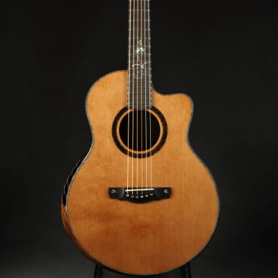 Ryan  Paradiso Grand Concert Signature Series - Western Red Cedar/Brazilian Rosewood for sale