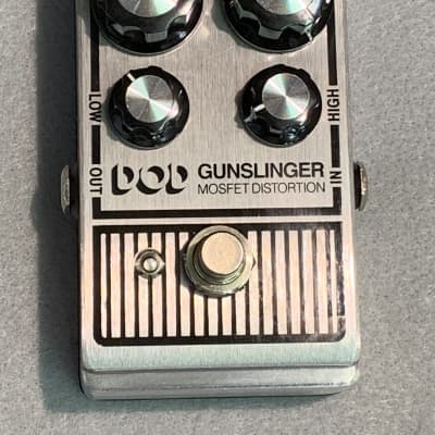 DOD Gunslinger Mosfet Distortion Effect Pedal for sale