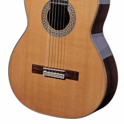 Spanish Classical Guitar JOAN CASHIMIRA MODEL 130 Cutaway Cedar - without pickup - solid cedar top for sale