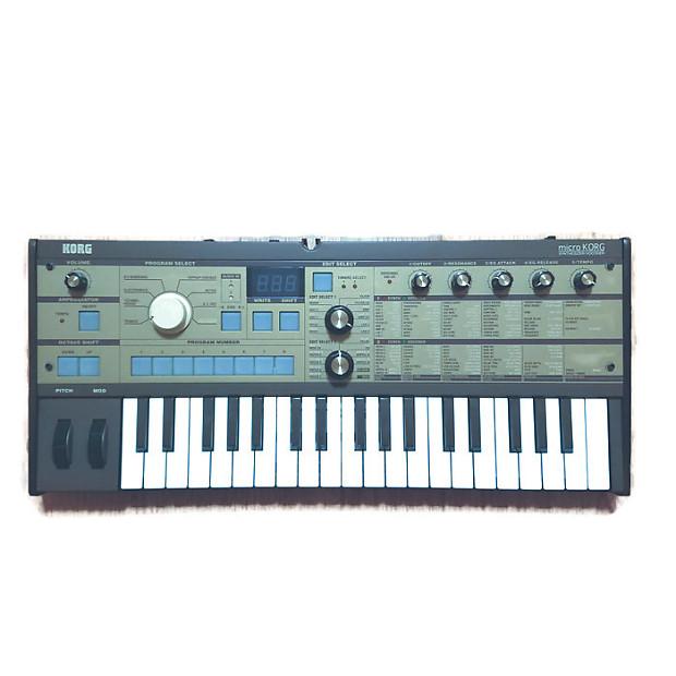 Korg korg microkorg xl+ synthesizer & vocoder (limited edition.