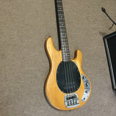 Music Man Stingray Bass Guitar 1979 Natural for sale