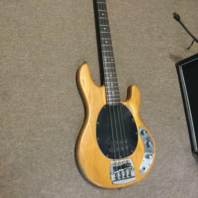 Music Man Stingray Bass Guitar 1979 Natural for sale
