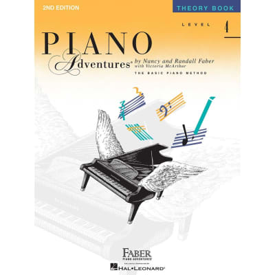 Piano Adventures: The Basic Piano Method - Theory Book Level 4 (2nd Edition)